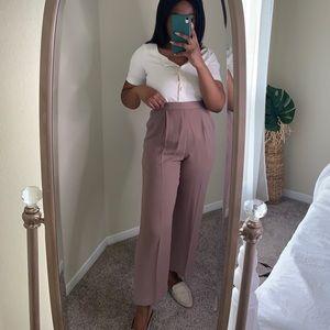 Mauve Vintage Trousers